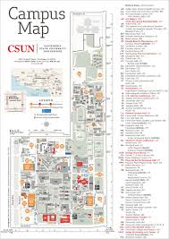 Ok State Campus Map by Maps Parking And Links California State University Northridge