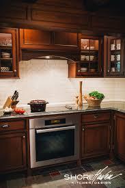 houzz glass kitchen cabinet doors log cabin kitchen by shorehaven kitchen design www houzz