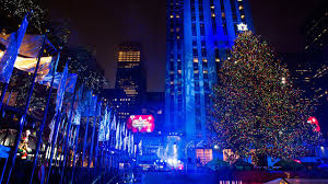 thousands attend rockefeller tree lighting story wnyw