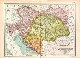 bohemia map 1909 map austria hungary bosnia bohemia transylvania croatia