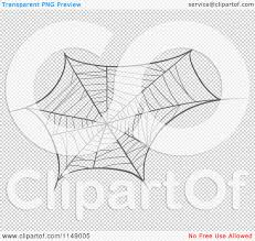 spider transparent background cartoon of a black and white spider web royalty free vector
