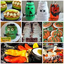 block party and halloween ideas features rae gun ramblings food