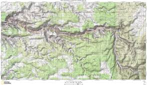 Map Of Zion National Park Snake Gulch Map Grand Canyon