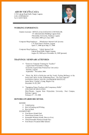Youth Resume Sample by 8 Resume Example For Applying Job Packaging Clerks
