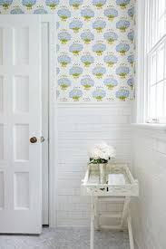 wallpaper bathroom designs small bathroom makeover the before after with free handed