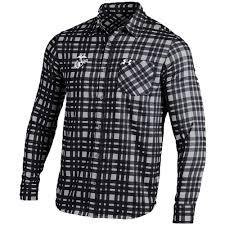 usmc under armour performance plaid button down dress shirt