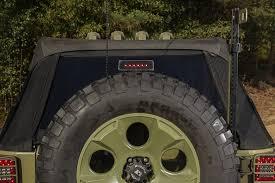 jeep jk 3rd brake light rugged ridge 11585 05 high mount led 3rd brake light for 07 18 jeep