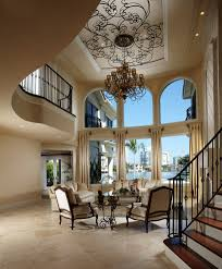 splashy short curtain rods fashion miami mediterranean living room splashy short curtain rods fashion miami mediterranean living room decorating ideas with arched windows balustrade banister beige chandelier double height