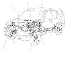abs component location index except diesel honda cr v 2002