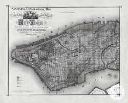 wall mural poster old vintage antique new york city maps nyc black white