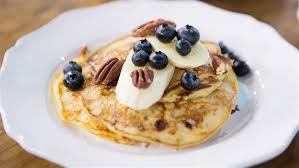 Protein Pancakes With Cottage Cheese by Healthy Banana And Cottage Cheese Pancakes Today Com