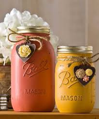 30 mason jar fall crafts autumn diy ideas with mason jars