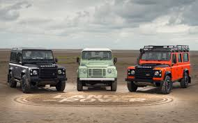 original land rover defender limited edition land rover defenders announced