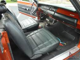 plymouth roadrunner hemi 4 speed recently completed mango orange