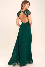 Kelly Green Maxi Dress Celebrate Your Timeless Beauty In The Greatest Forest Green Lace