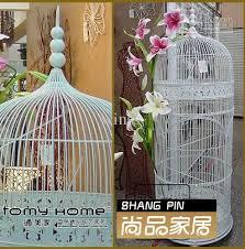 Bird Cage Decoration Fashion Iron Birdcage Decoration Bird Cage Photography Props