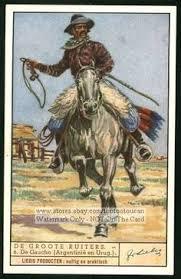 horsemen western cowboy 1930s card western cowboy cowboys
