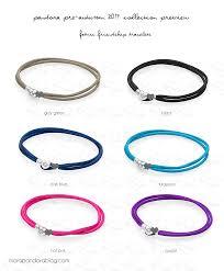 cord bracelet with charm images Pandora pre autumn 2017 friendship bracelets preview other png