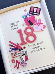 personalised 18th birthday card for daughter granddaughter niece