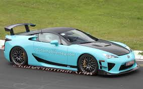 lexus lfa price spied wild teal lexus lfa seen on the u0027ring is it a special edition
