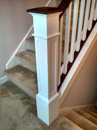 Box Stairs Design 55 Recessed Flush Panel Box Newel Post Newel Post Stair Post