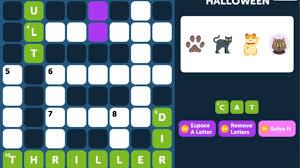crossword quiz halloween level 6 walkthrough youtube