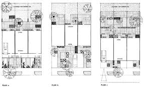 row home plans row houses