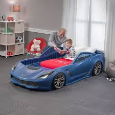 corvette car bed for sale corvette z06 toddler to bed blue retailer exclusive step2