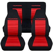 1996 mustang seats amazon com 1994 2004 ford mustang seat covers black and with
