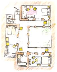 moroccan riad floor plan marrakech t home your holidays in a riad