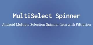 android spinner android selection spinner item filteration pratik