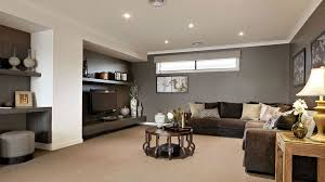 Elegant Livingroom Cabinet Elegant Living Room Design With Gray Sectional Sofa And