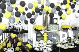 Cool 30th Birthday Decoration Modern Geometric Party 30th Birthday