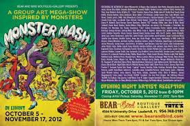 monster mash bear and bird boutique gallery