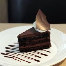 triple chocolate fudge cake recipe via magazine