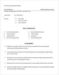 best resume templates free high school resumes exles best resume collection
