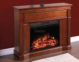 contessa curio cabinet fireplace mantel w curved firebox xiorex