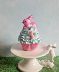 Easter Decorations For Shop Windows by Easter Bunny Fake Cupcake Photo Props Easter Decorations Party