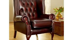 Wingback Chair Recliner Design Ideas Chair Design Ideas Brown Leather Wing Recliners For Winged New