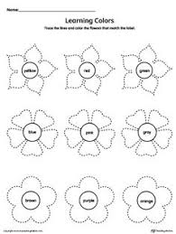 shapes recognition practice worksheet diamond trazos pinterest