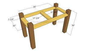Wooden Planter Plans Howtospecialist How by Diy Desk Plans Howtospecialist How To Build Step By Step Diy