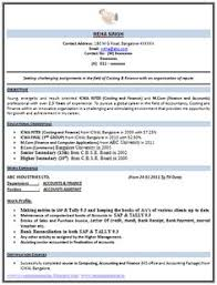 Sample Of Objective In Resume by Professional Curriculum Vitae Sample Template Of A Fresher Mba