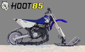 snow motocross bike hoot85 snow bike conversion kit hoot bikes
