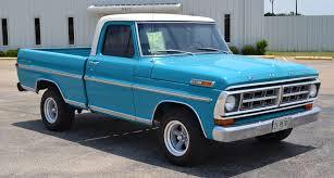 Vintage Ford Truck Beds For Sale - 1971 f100 autotrends