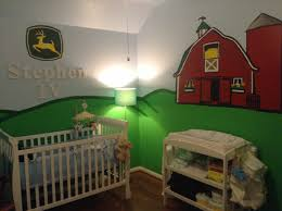 John Deere Nursery Set By TurtlesCraftsdesigns On Etsy Bedroom - John deere kids room