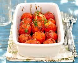 cuisiner des tomates s h s recette tomates cerises rôties au four facile rapide