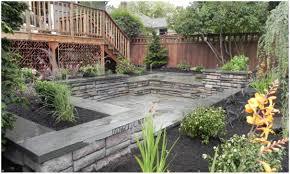 backyards cool garden interesting hardscape ideas for backyards