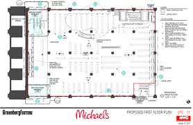 landmarks takes no action on michaels store proposed beneath