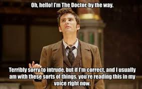 10th Doctor Meme - read my mind doctor who doctor who pok礬mon go
