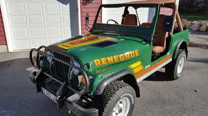 renegade jeep cj7 certifiablejeep com project